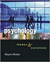 Psychology Themes & Variations Instructor's Edition Seventh Edition
