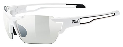 uvex Unisex– Erwachsene, sportstyle 803 small v Sportbrille, white, one size
