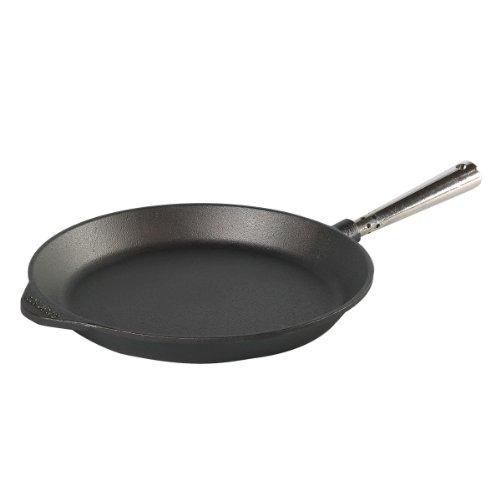 Skeppshult 0280 braadpan met roestvrij stalen handgreep en tegengreep- voor alle warmtebronnen, inclusief inductie, oven, grill en open vuur geschikt ø 28 cm
