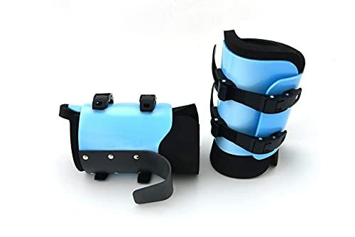 ONHILLSPORT Botas de inversión anti gravedad - Cuero - Fitness Equipment Home Gym (Azul, PRO (hasta 120 kg))