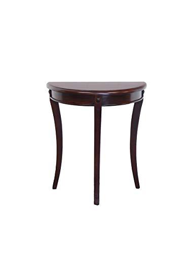Wandtisch Konsolen-Tisch Antik Stil Massivholz Nussbaum dunkel B: 63 cm (8843)