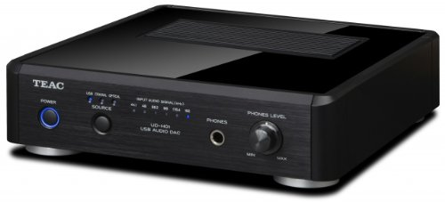 Teac UD-H01-B Digital/Analog-Wandler mit USB Audio-Interface schwarz