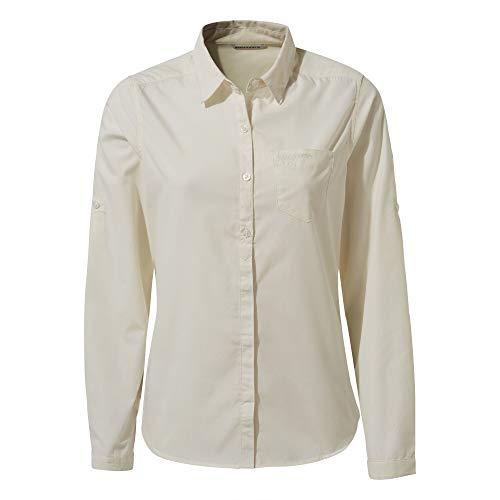 Craghoppers vrouwen Kiwi LS shirt zeezout 20