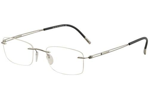 Silhouette Eyeglasses TNG Titan Next Gen Chassis 5521 7010 Optical Frame