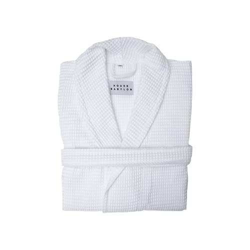 House Babylon Albornoz unisex de 230 g/m², 100% algodón turco certificado Oeko-Tex Terry toalla batas de baño para hombres y mujeres