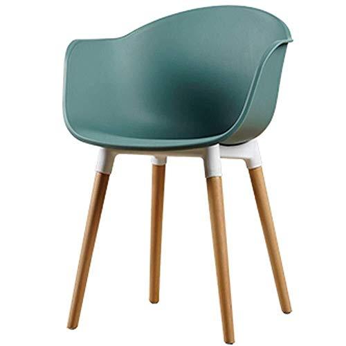 LIUSHENGFUBH Sillas de Comedor Silla de Comedor Silla de Ocio en casa de Nuevo Presidente de diseñador de Moda Creativa (Color : B)