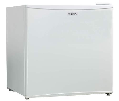 Frigelux - Mini Réfrigérateur Table Top CUBE48A++ - 45L - Porte Réversible - Avec Freezer - Classe Énergétique A++ - Idéal Petit Espace ou Appartement - Pose Libre - 42 db - Garantie 2 ans - Blanc