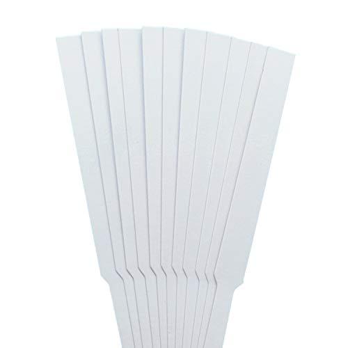 Basenpulver,ph Teststreifen,100 stücke 130x12mm Parfüm Testpapierstreifen für die Prüfung Duft Aromatherapie Ätherische Öle