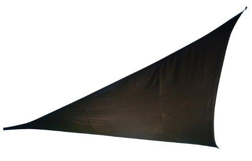 Doppler 493408840 Sonnensegel Alupro Dreieck 5 x 5 x 5 m, anthrazit