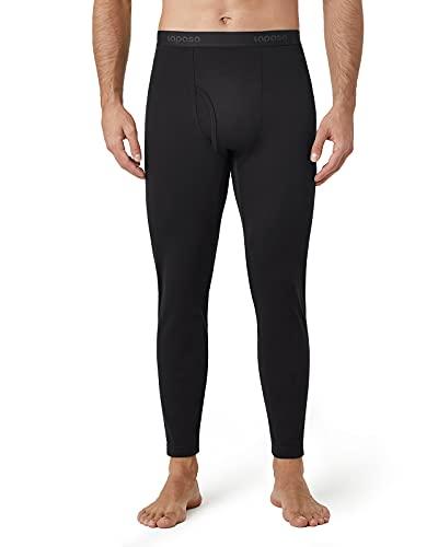 LAPASA Malla Térmica Hombre Pantalón Térmico Hombre Extra-Calido Invierno M25 XXL Negro