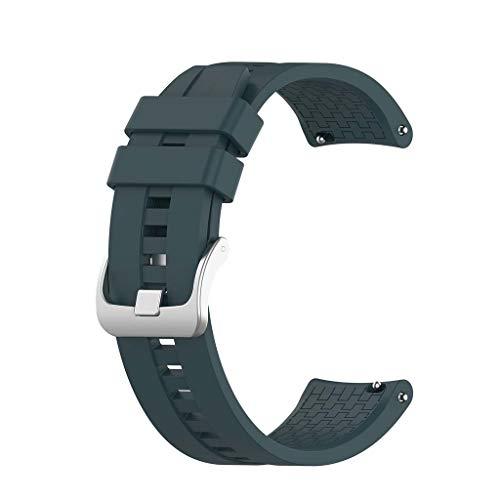 N/A/ Correa de reloj para Huawei Watch GT2/-Samsung -GalaxyWatch3/-AmazfitGTR correa de silicona