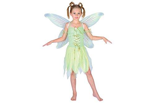 Feen Tinkerbell Peter Pan Verkleidung für Mädchen Fasching Karneval Kostüm L