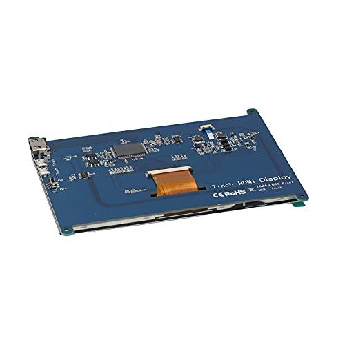 Montloxs Pantalla táctil capacitiva de 7 pulgadas Monitor de interfaz multimedia HD 1024x600 Pantalla LCD HD para juegos para 4B