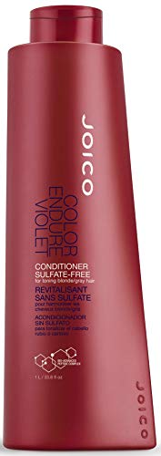Joico Color Endure Violet Conditioner for toning blonde and gray hair 33.8 fl oz