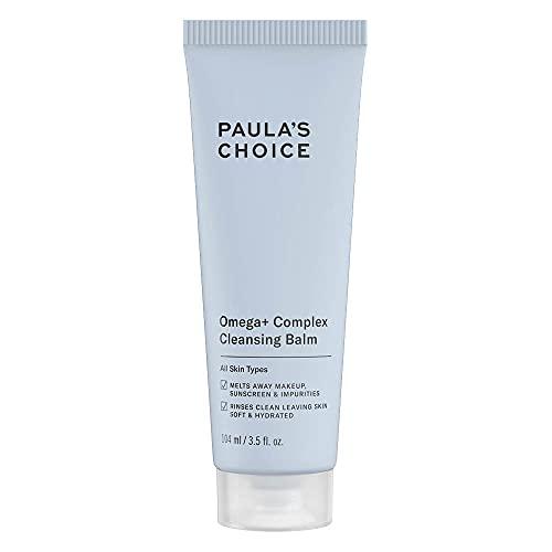 Paula's Choice Omega+ Complex Balsamo Detergente Viso - Pulizia Viso e Rimuove il Make Up - Nutre e Idrata la Pelle - con Omega 3, 6, 9 - Tutti i Tipi di Pelle - 103 ml