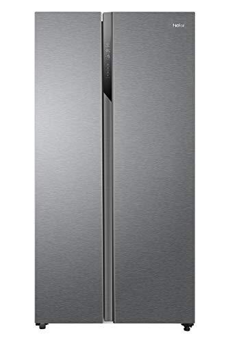 Haier HSR3918FNPG Side-by-Side / 177,5 cm Höhe / 337 L Kühlteil / 191 L Gefrierteil / No Frost / Tür Display