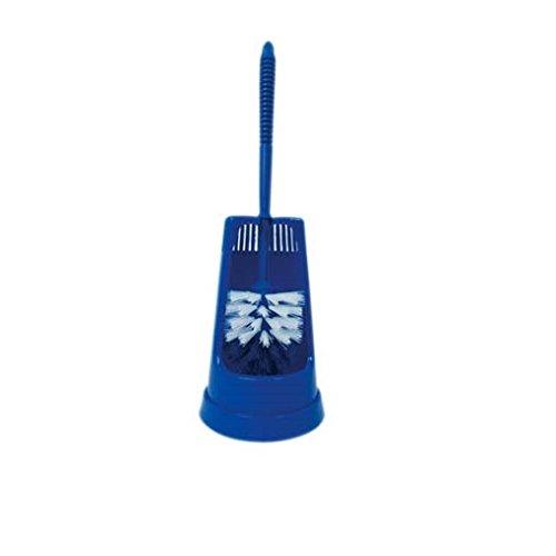 MSV 100145.02 Nettoyeur WC en Bleu foncé 40 cm, Plastique, 13x13x40 cm