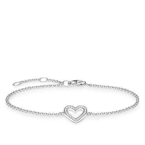 THOMAS SABO Damen Armband Herz 925er Sterlingsilber A1553-051-14