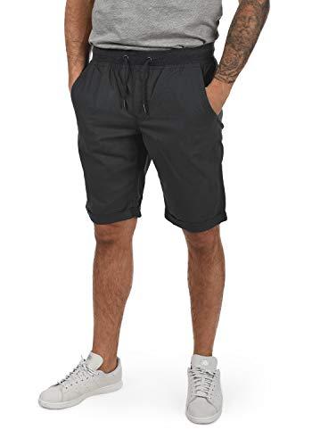 Blend Claude Herren Herren Chino Shorts Bermuda Kurze Hose Mit Kordel Aus 100% Baumwolle Regular Fit, Größe:L, Farbe:Phantom Grey (70010)