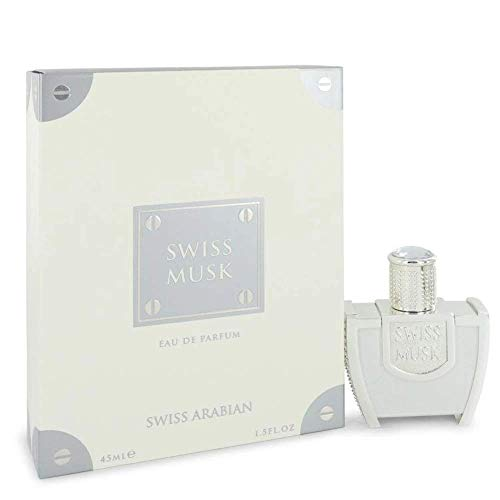 Swiss Musk by Swiss Arabian Eau De Parfum Spray (Unisex) 1.5 oz / 44 ml (Men)