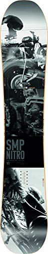 Nitro Snowboards Herren SMP '20 All Mountain Directional Twin Snowboard Freestyle Freeride Board, mehrfarbig, 158 cm