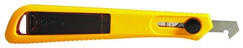 Olfa 380402 Cúter especial para plástico con cuchilla de 8 mm, Negro