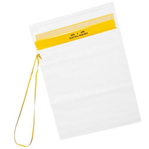 Fox Outdoor wasserdichte Dokumentenhülle, Transparent, Trageband (mittel)