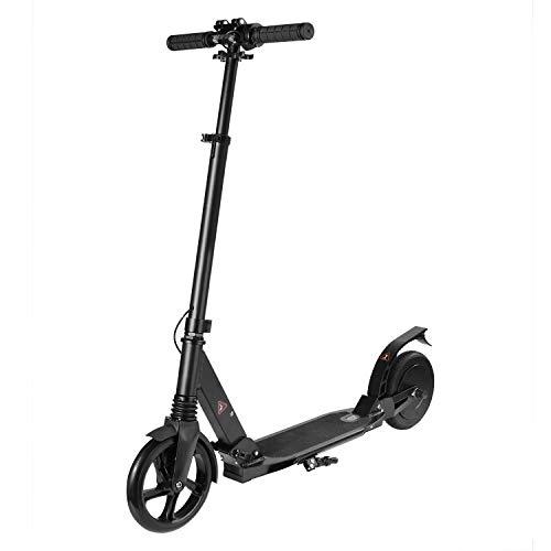 DWjoy Scooter Eléctrico para Niños, Neumático Sólido de 8