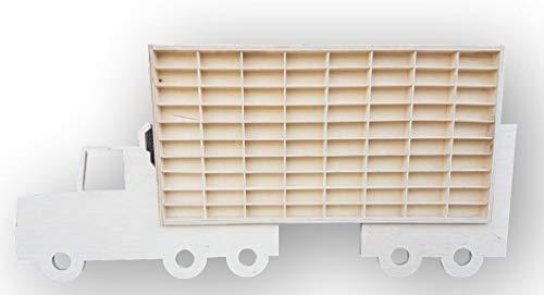 Dekoralove Hot Wheels Vitrine Streichholzbox Aufbewahrungsschrank Regal LKW Wandhalterung Rack für 80 Autos