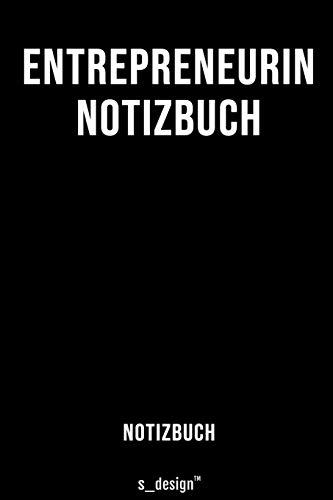 Notizbuch Für Entrepreneur Entrepreneurin Originelle Geschenk Idee 120 Seiten Liniertes Blanko Papier