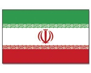 Outdoor-iran münchen drapeau 90 x 150 cm