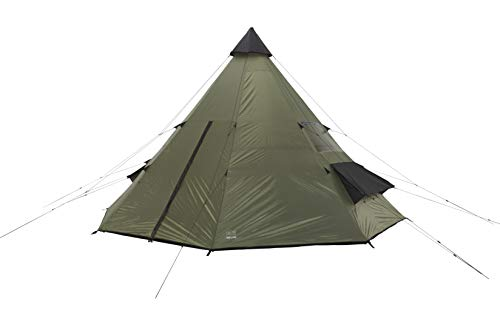 GRAND CANYON Tepee - Indian tepee tent ( 8-person tent), olive/black, 602007