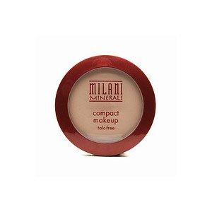 Milani Minerals Talc-Free Compact Makeup, Creamy Natural 103 .27 oz (7.72 g)