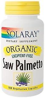 Organic Saw Palmetto Excipient Free 1,100 MG (100 Vegetarian Capsules)