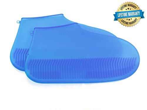 ZestyBus Silicone Shoe Cover (Dark Blue, Medium)