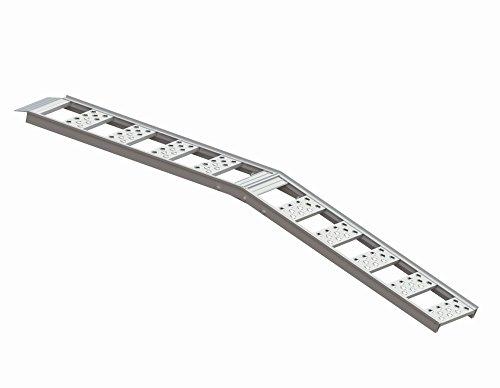 "Highland (1126900) 85"" Aluminum Smooth Rung Center Fold Loading Ramp - 1 unit"