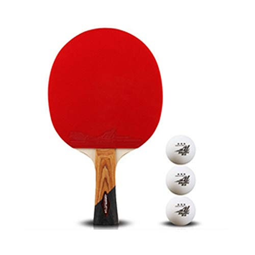 Find Bargain XSWY Table Tennis Racket for Outdoor Sports and Fitness Rackets, 1 Pack (Style : Horizo...