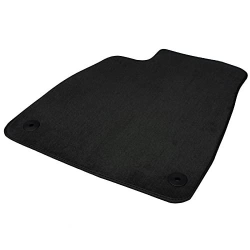 Fahrerseite Fußmatte für OPEL Mokka ab 2012 | Fahrermatte in Original Qualität mit Lederrand