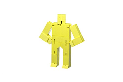Image of the Areaware Cubebot Small (Yellow)