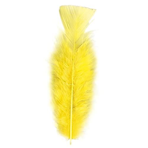 Widmann 0503Y - 50 Federn, Länge ca. 10 cm, Accessoire, Basteln, Indianer