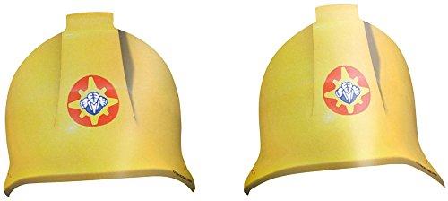 Generique - 8 Chapeaux en Carton Sam Le Pompier