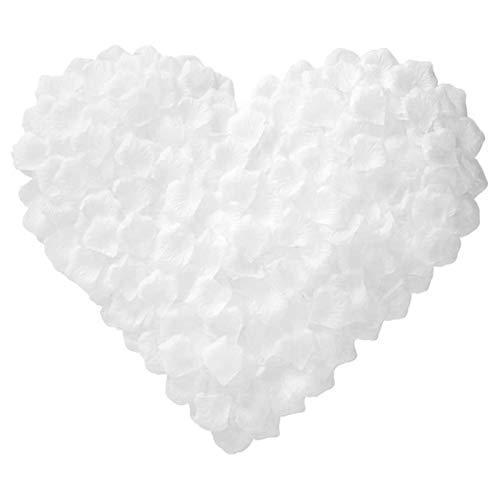 100/00/500/000 Piezas de pétalos de Rosa Artificiales pétalos de Seda de Flores Artificiales para el Día de San Valentín decoración de Flores de Boda