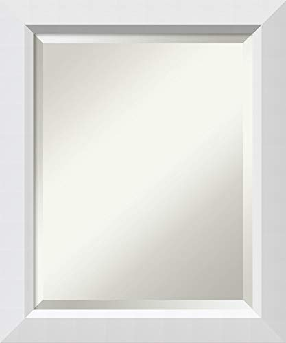 Framed Vanity Mirror | Bathroom Mirrors for Wall | Blanco White Mirror -