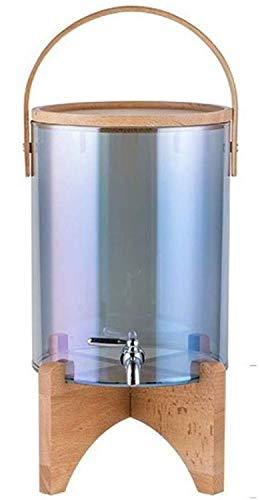 LENSHUI Mason Jar Drink Dispenser - for Sun Tee, Eistee, Kombucha, Gären, Saft, Bier, Wein und Spirituosen