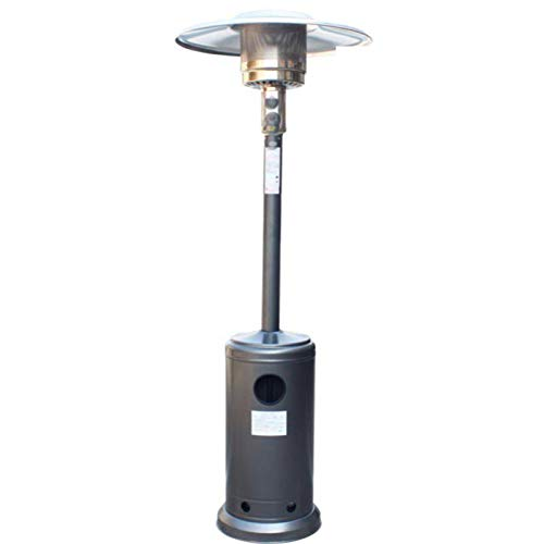 Calentadores Para Exteriores Ajuste Calentador De Patio Paraguas Calefacción Estufa Con Calefacción Para Pérgola Gazabo Plata