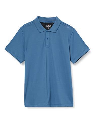 CMP Dry-Ve Poloshirt Polo Homme, Denim, 54