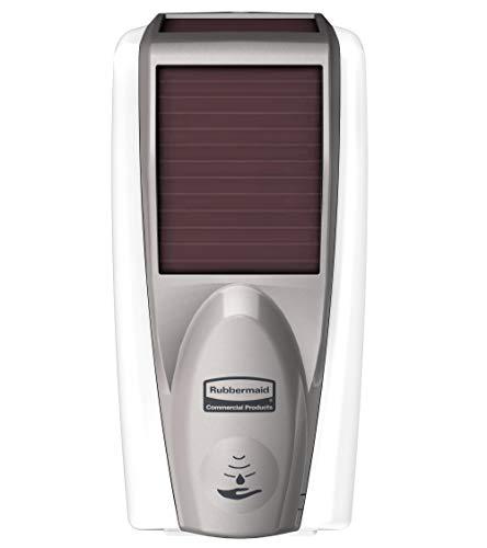 Rubbermaid Commercial 1980828 LumeCel AutoFoam Soap Dispenser, White/Grey Pearl