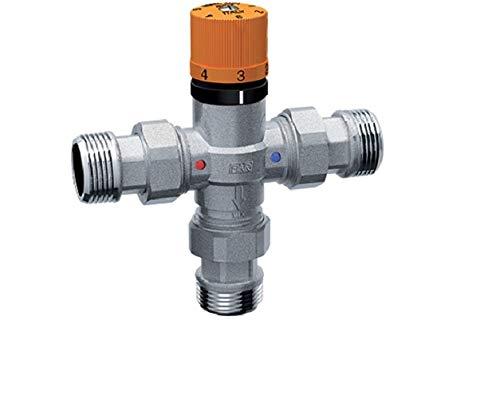 FAR 3955 - SOLARFAR - Miscelatore termostatico cromato per impianti solari da 3/4'