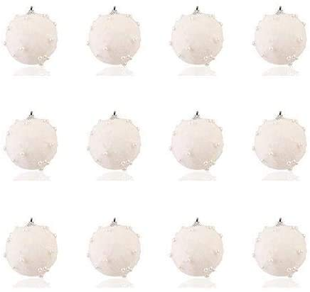 MGE Christmas Balls 30pcs Baubles Ornaments Xmas Tree Hanging Balls Pendants Shatterproof Christmas Tree Decorations Large Hanging Crystal Round Ball for Holiday Wedding Party Decoration