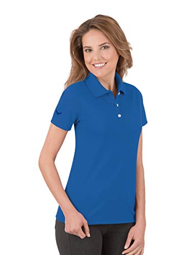 Trigema Damen 521603 Polohemd, Electric-Blue, L